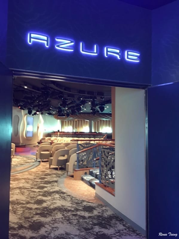 Azure Lounge Disney Wonder