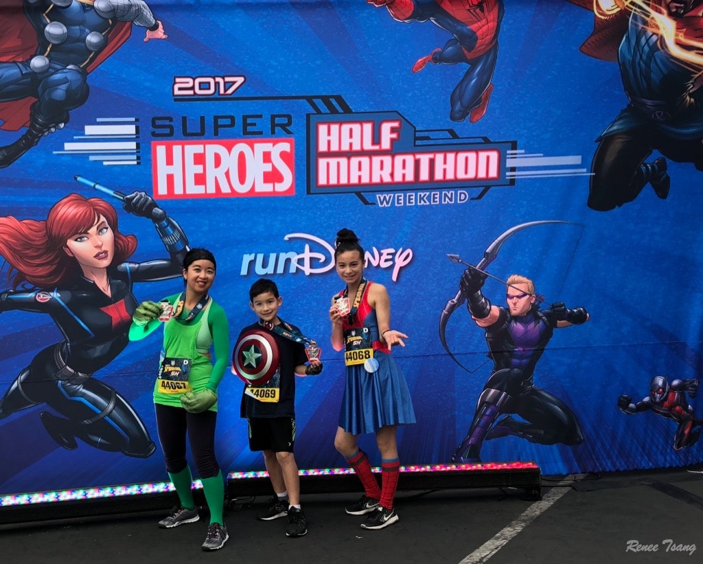 Spiderman 5K at Avengers Superhero Marathon RunDisney