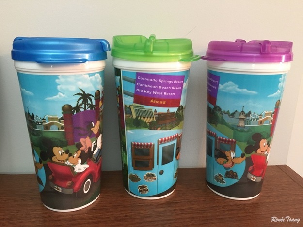 WDW Dining plan mugs